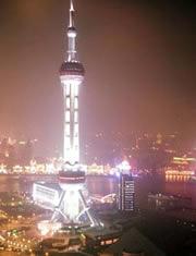 上海の夜景 © 有限会社田中印刷所