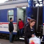 2008年3月に利用した長春行き特別快速寝台列車