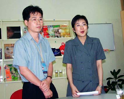 弱冠32歳のクールな社長。(精英彩色印刷有限公司) © 有限会社田中印刷所
