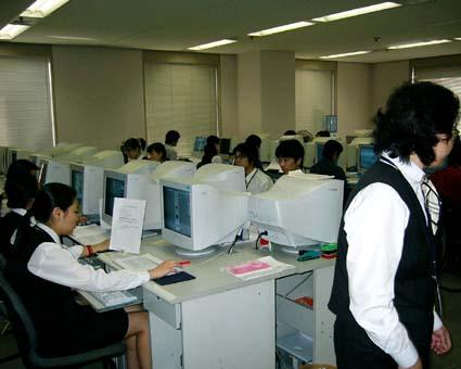 日本の事務所の写真ではありません。(大連愛科信息技術有限公司) © 有限会社田中印刷所