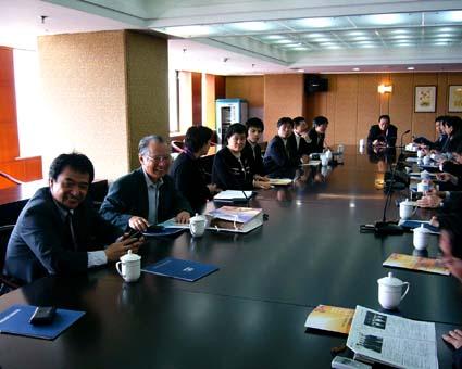 日本語はお上手です。中国大連国際合作(集団) © 有限会社田中印刷所