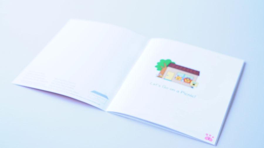 絵日記ライオンARアプリ © 有限会社田中印刷所