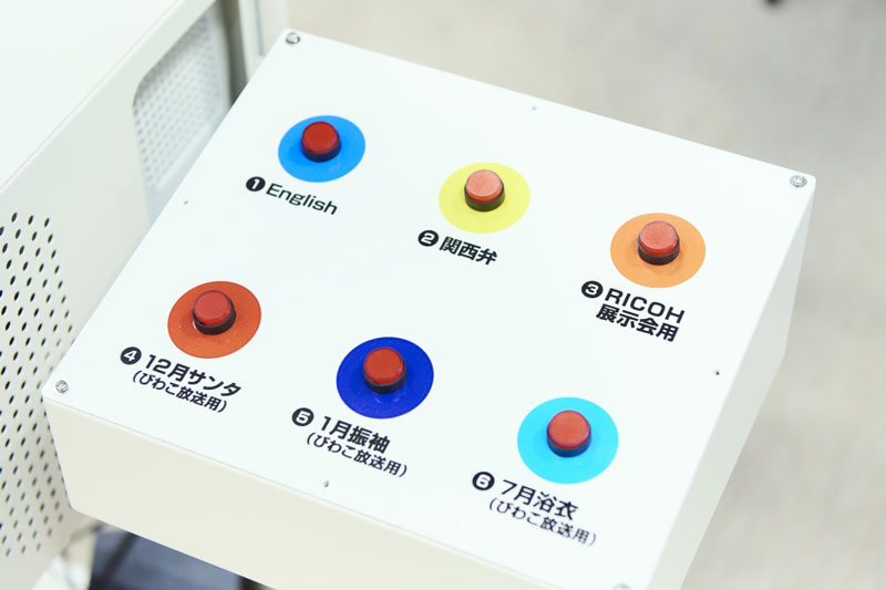 ボタン切り替えシステム © 有限会社田中印刷所
