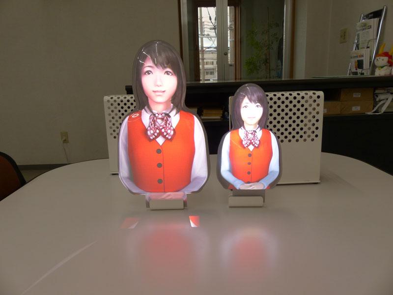 スクリーンが8cm大きくなるとかなり印象が変わります © 有限会社田中印刷所