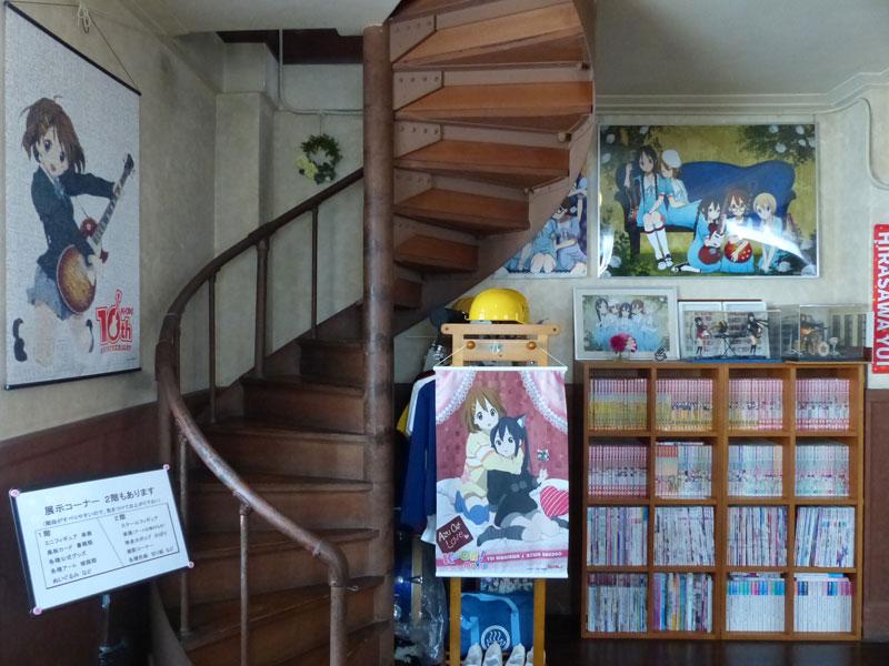 アニメ関連の展示です © 有限会社田中印刷所