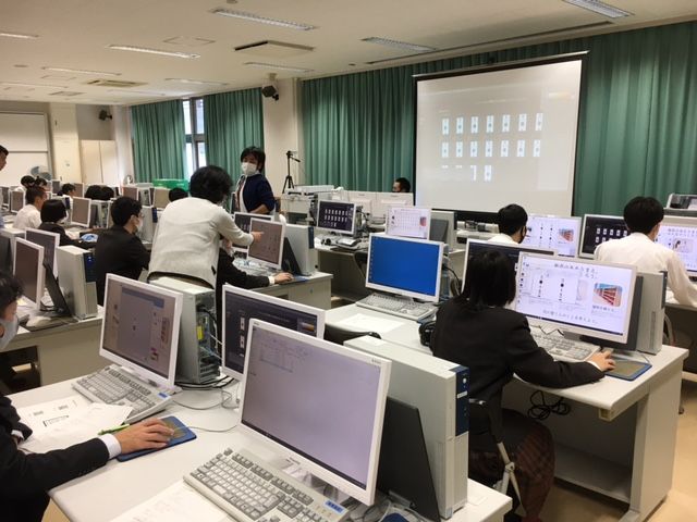 2020奄美高校オンライン授業の様子 © 有限会社田中印刷所